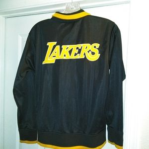 NBA Lakers Warm Up Jacket - Size Youth L